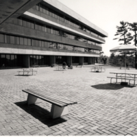 Humanities Wing patio
