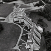 Aerial photograph of Scarborough College