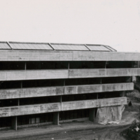 Construction of the Humanities Wing - south side