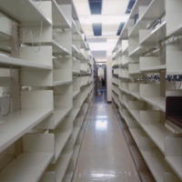 Bladen Library stacks/shelves