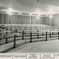 First floor lecture room