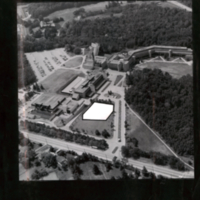 Aerial view with possible location for a Scarborough Hall
