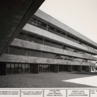Humanities Wing southwest side