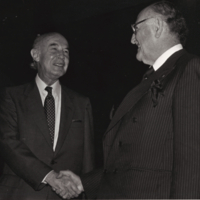 Chancellor Ignatieff with Alfonso Garcia Robles