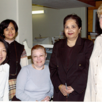 ARC technical services staff, UTSC library, ARC, Scarborough Campus