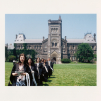 Graduation procession from University College to Convocation Hall