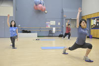 Recreational athletic activity, cardio core class, University of Toronto at Scarbrough (UTSC)