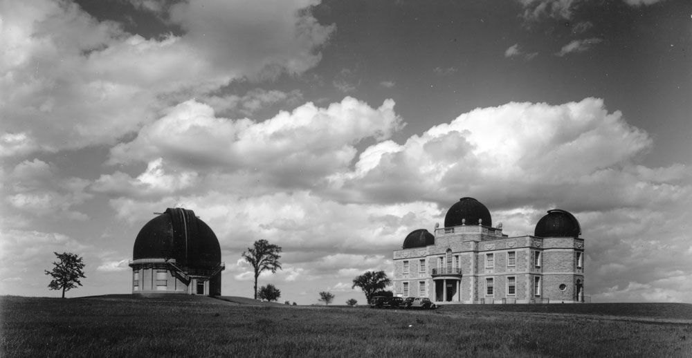 David Dunlap Observatory, 1938, from the University of Toronto Archives Image Bank collection