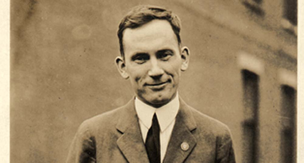 A young Harold Innis, from the University of Toronto Archives Image Bank collection