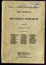 First publication of the results of the clinical trials of insulin