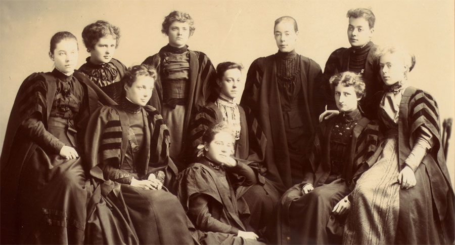 Women's Literary Society, University College, 1895, from The University of Toronto: Snapshots of its History exhibit